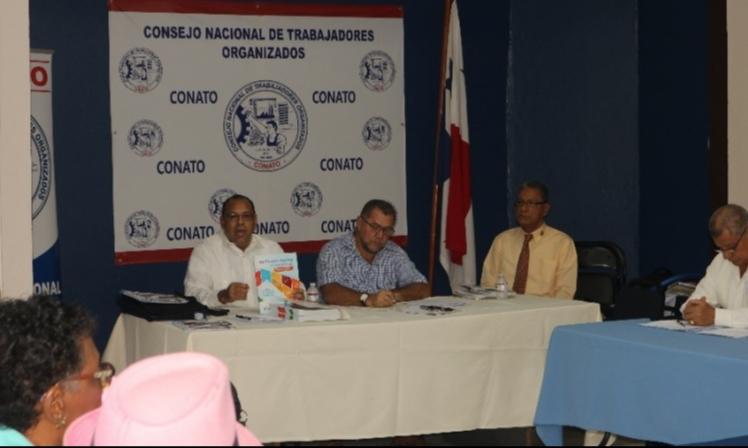 Presentación del Plan Panamá 2030 en CONATO
