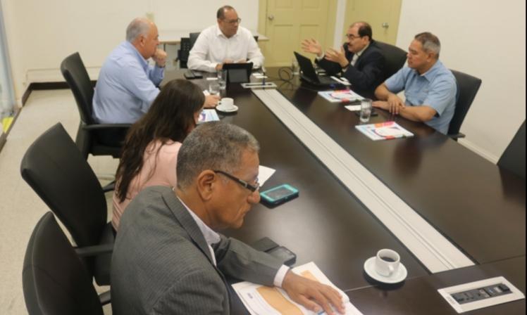 Comisión de Asuntos Agropecuarios de APEDE visita Secretaría de la Concertación Nacional para el Desarrollo